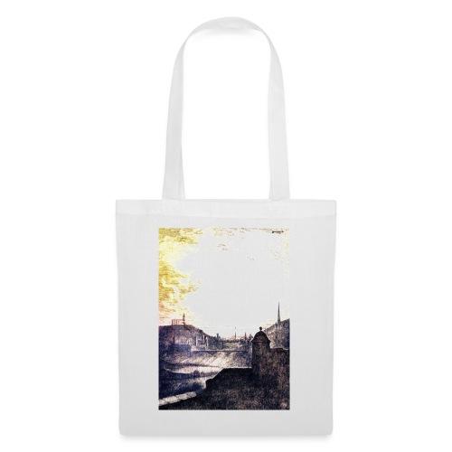 Golden Sunshine over Edinburgh Castle - Tote Bag