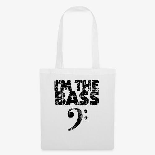 I'm the Bass Vintage Black (Clef) - Stoffbeutel
