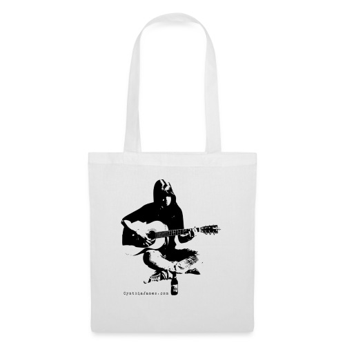 Cynthia Janes guitar BLACK - Tote Bag
