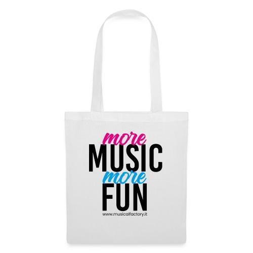 More Music More Fun - Borsa di stoffa