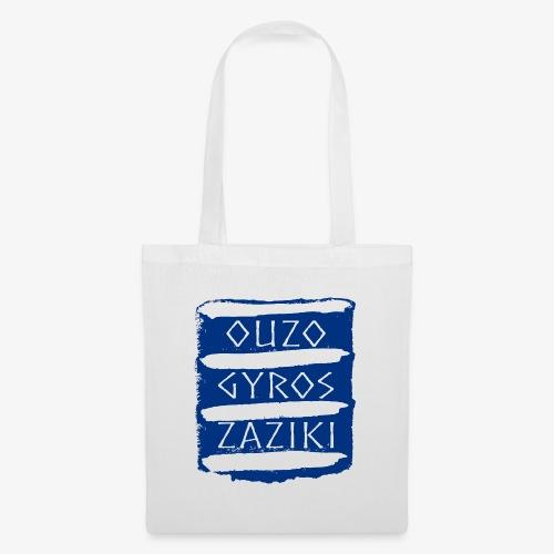 Ouzo Gyros Zaziki - Stoffbeutel