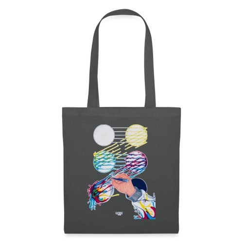 CMYK Mix and flow - Tote Bag