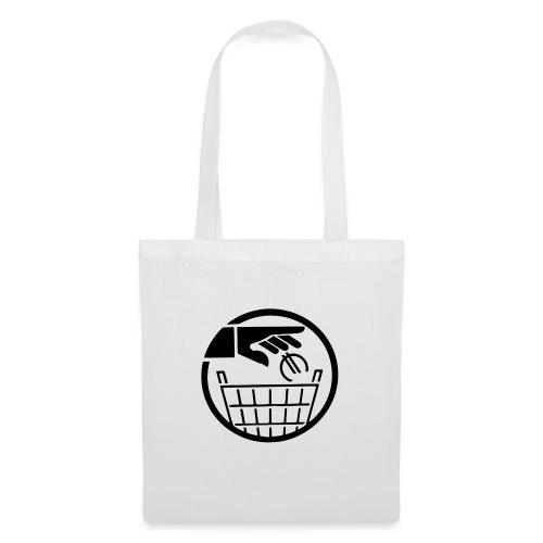 Euro poubelle NOIR - Tote Bag