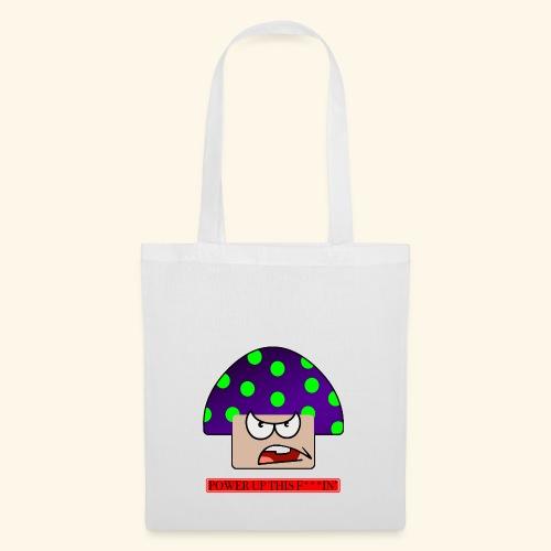 Angry mushroom - Borsa di stoffa