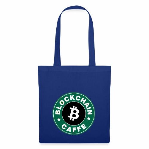 BlockChain Caffè Logo - Borsa di stoffa