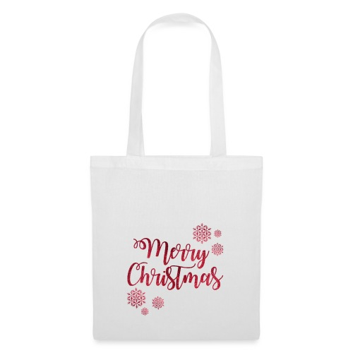 Merry christmas Noël New shape fane design vintage - Tote Bag