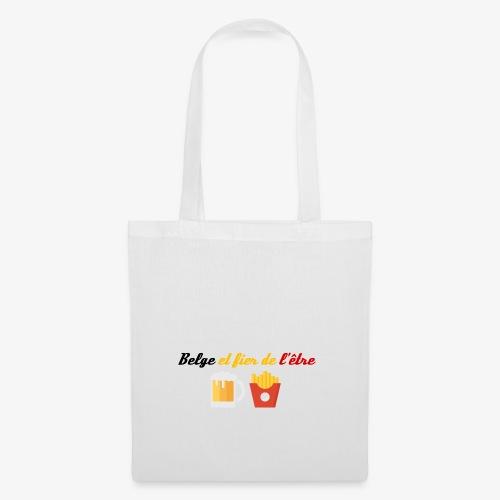 Belge et fier de l'être - Tote Bag