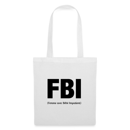 FBI - Sac en tissu