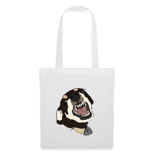 angry doggo - Stoffbeutel