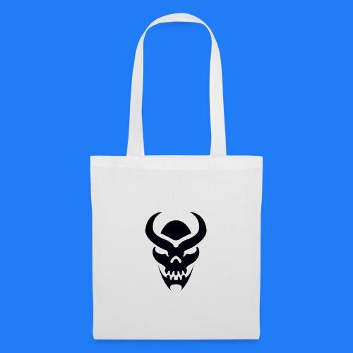TRIBAL SKULL NOIR - Tote Bag