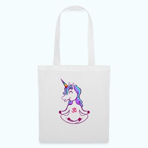 Unicorn meditation - Tote Bag