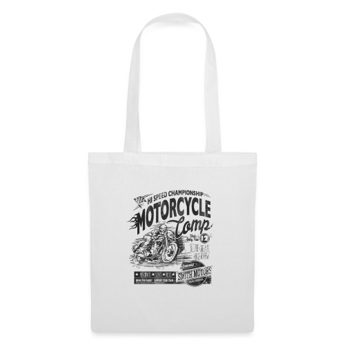 MOTORCYCLE COMP - Tote Bag