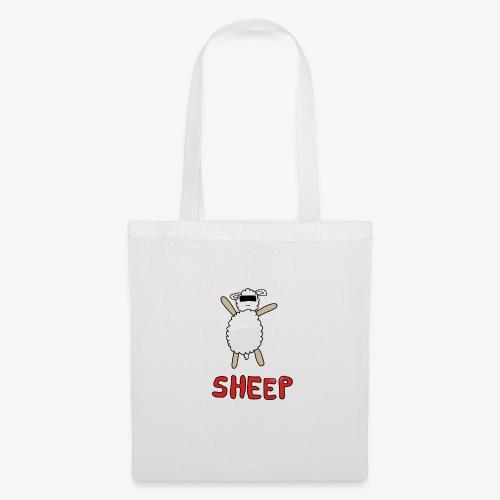 Happy - Sheep - Tote Bag