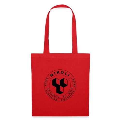 Nikolin musta logo - Kangaskassi