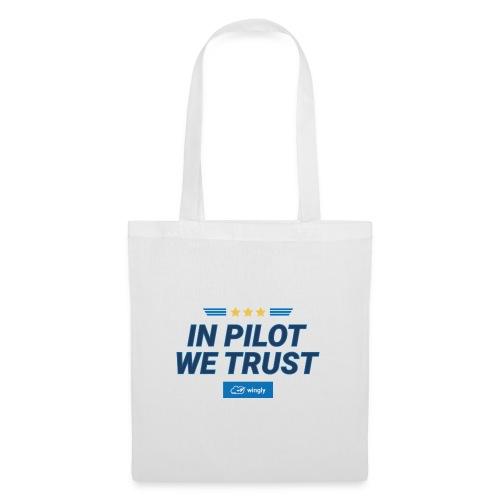 In pilot we trust - Tote Bag