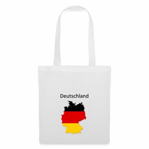 Deutschland Karte - Stoffbeutel