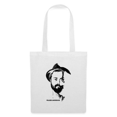 Fraser in hat - Tote Bag