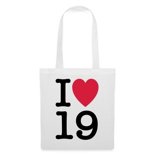 iheart19 - Tote Bag