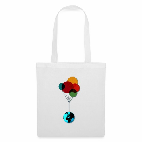 EARTH & BALLOONS - Tote Bag
