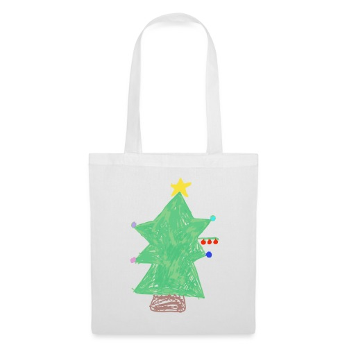 Natale, Made By Kids - Borsa di stoffa
