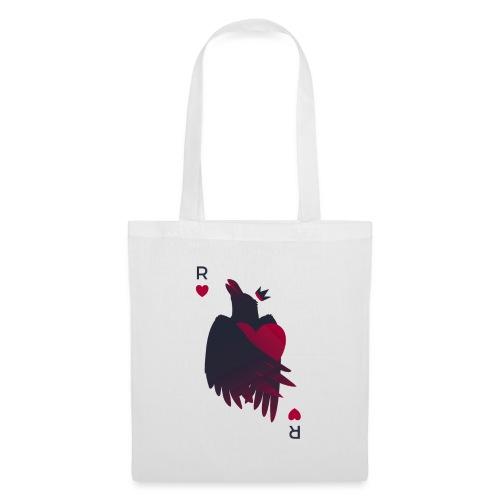 Raven Heart - Crow King - Tote Bag