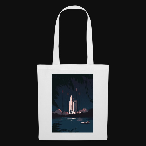 Ariane 5 - Launching By Tom Haugomat - Tote Bag