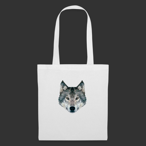 Loup LowPoly - Tote Bag