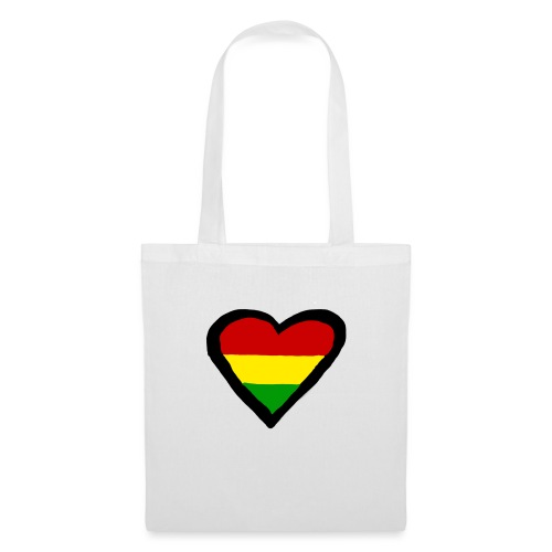 LOGO 1 RASTA BACKWARDS - Tas van stof