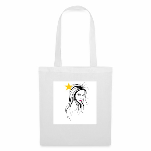 dessin femme design fashion - Tote Bag