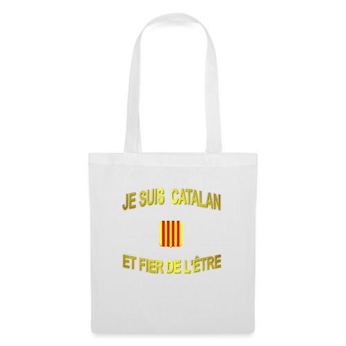 Tee-Shirt supporter du pays CATALAN - Sac en tissu