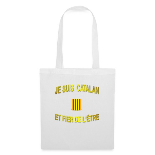 Tee-Shirt supporter du pays CATALAN - Tote Bag