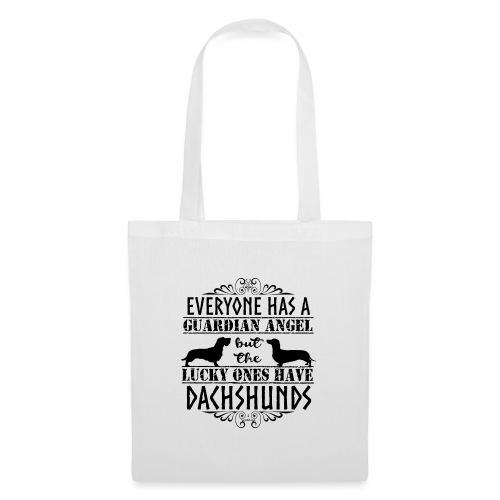 Dachshund WH SH Angels - Tote Bag