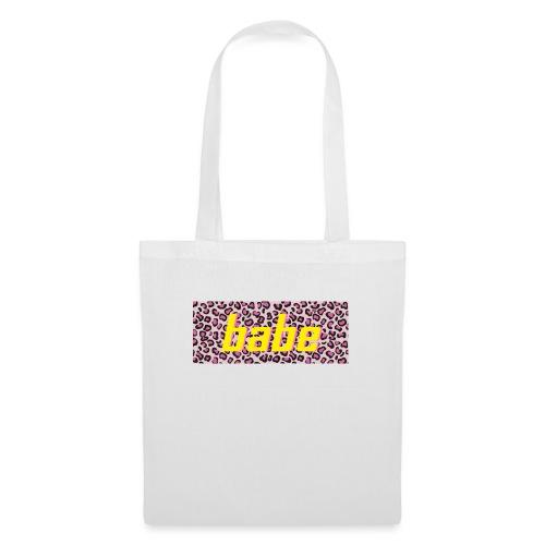 Collectie 'WILD BABE' - geel - Tas van stof