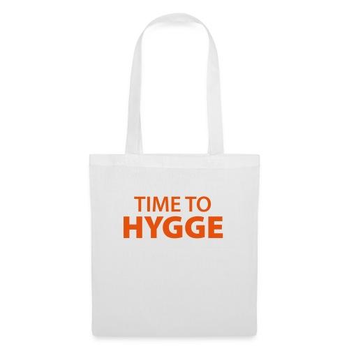 time to Hygge Feeling Glück Zufriedenheit It-Word - Tote Bag