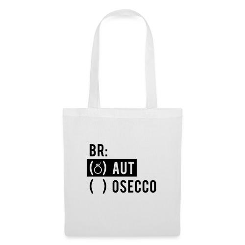 Vorschau: Braut Brosecco - Stoffbeutel