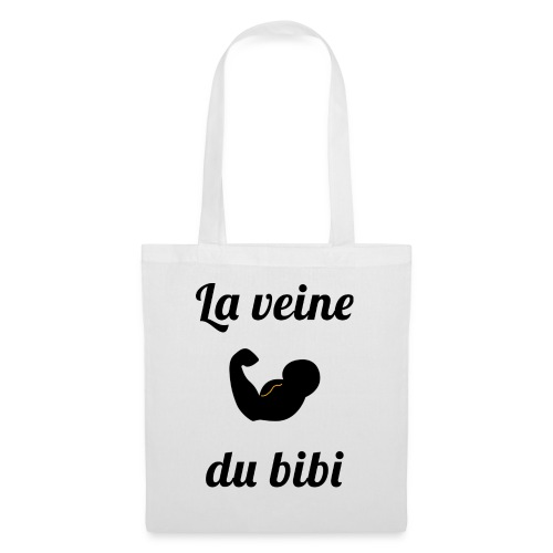 La veine du biceps blanc - Tote Bag