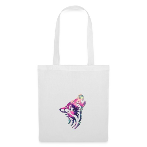 Wolf logo rainbow - Tote Bag