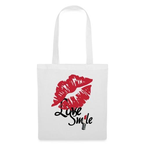 love smile - Bolsa de tela