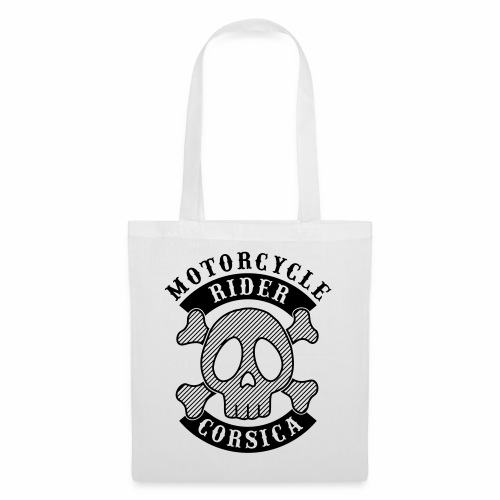 Motorcycle Rider Corsica - Tote Bag