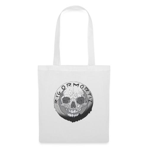Rigormortiz Black and White Design - Tote Bag