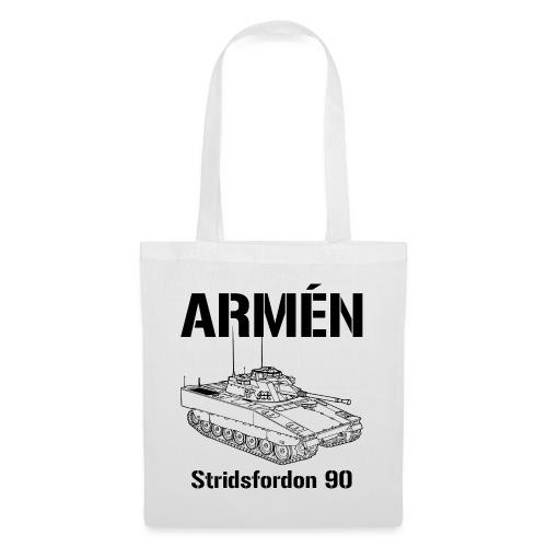 Armén Stridsfordon 9040 - Tygväska