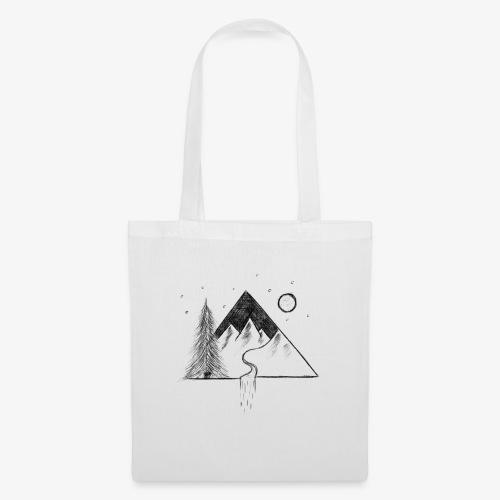 alpage géométrique - Tote Bag