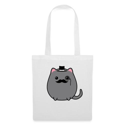 Gentleman Katze - Stoffbeutel