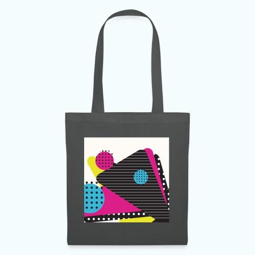 Abstract vintage shapes pink - Tote Bag