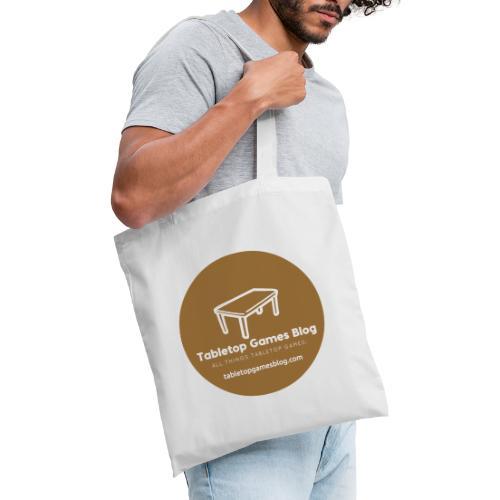 Circle Logo Brown - Tote Bag