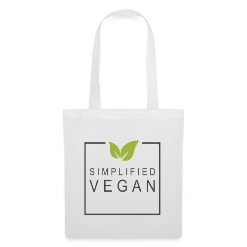 SIMPLIFIED VEGAN - Tote Bag