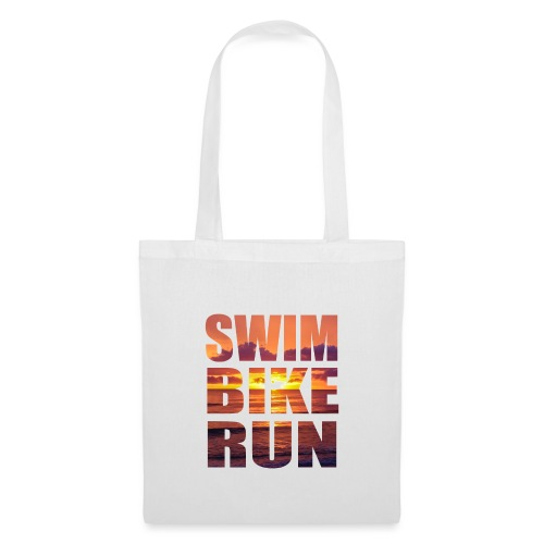 swim bike run @RUNNINGFORCE - Stoffbeutel