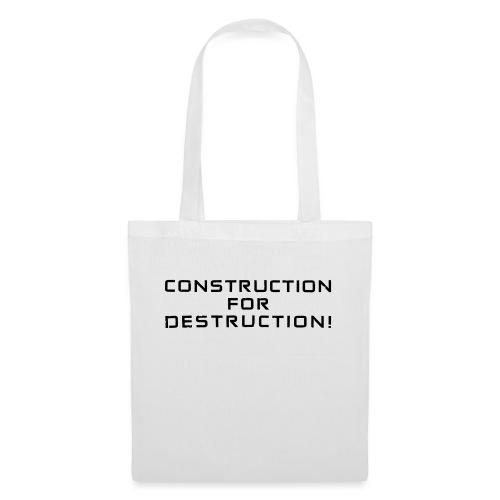 Black Negant logo + CONTRUCTION FOR DESTRUCTION! - Mulepose
