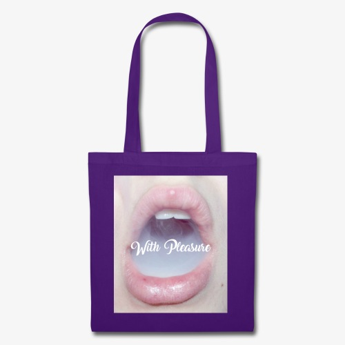 With Pleasure Mouth 2 - Tote Bag