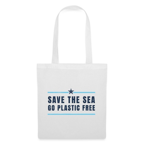 Defend the sea go plastic free Umweltschutz - Stoffbeutel